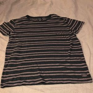 American Eagle short sleeve striped t-shirt